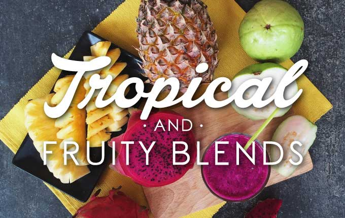 Dive into our tropical paradise of delicious exotic fruits.