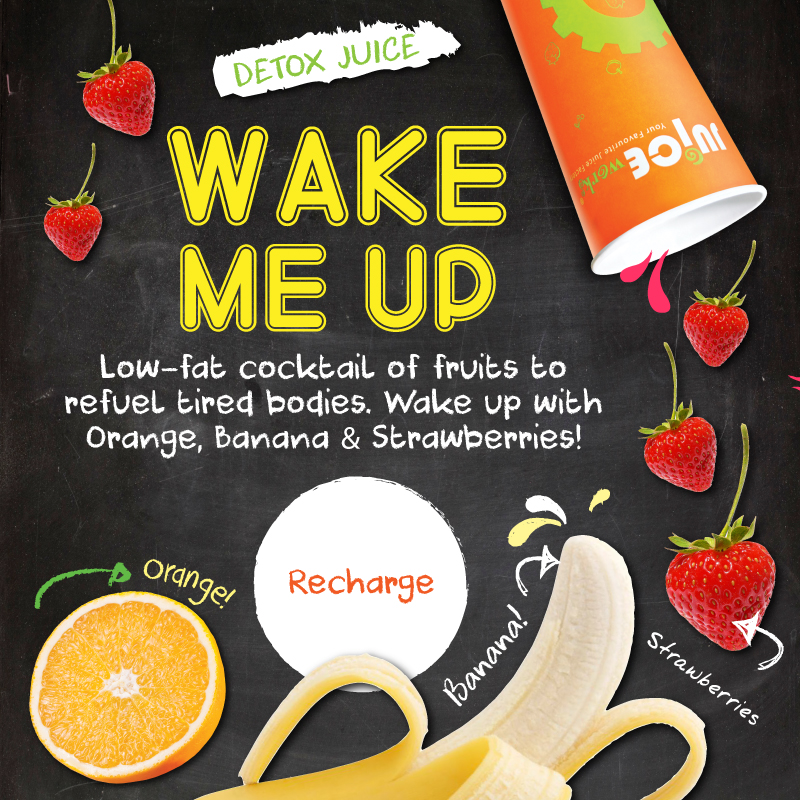 Wake Me Up Detox Juice