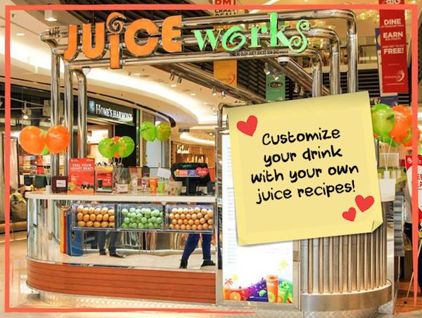customize your juice