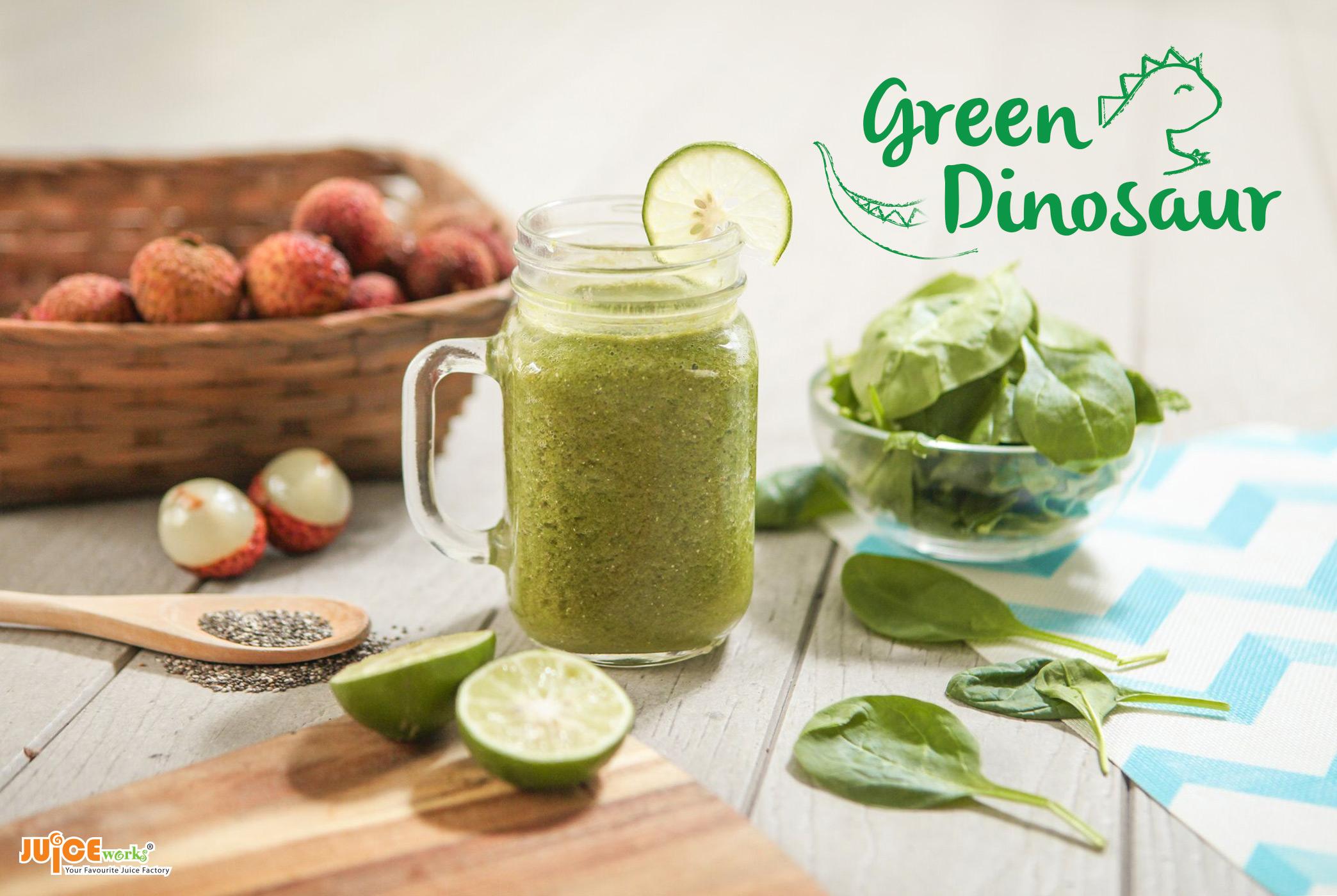 green-dino