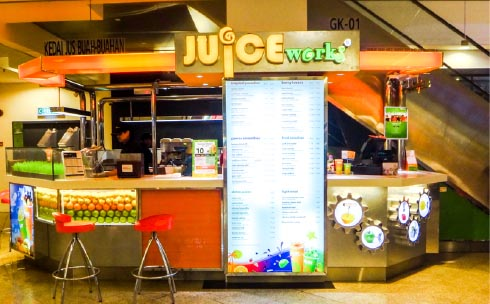 Mid Valley Megamall - Juice Works